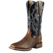 ARIAT - Men's Tombstone Wide Square Toe - Earth / Black - ( 10011785 ) - New