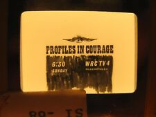 PROFILES IN COURAGE - VINTAGE NBC TV Series Promo-Pulitzer Prize JOHN F. KENNEDY
