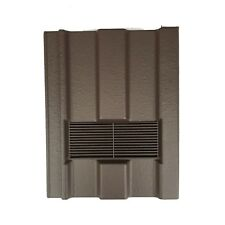 Roof Tile Vent To Fit Marley Ludlow Major | Brown Smooth | 10 Colours Available
