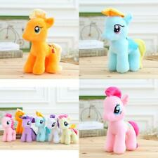 "7"" My Little Horse Figures Stuffed Plush Soft Teddy Doll Toy Baby Kids gifts"