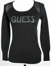 Guess Women's Round Neck Logo Long Sleeve Sweater NWOT
