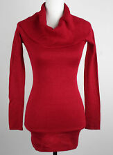 Energie Authentic Womens Juniors Christmas Party Turtle-Neck Sweater NWOT