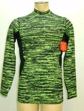 NWT$75 Nike Mens Dr-Fit Max Hyperwarm Mock Turtleneck Long Slv Shirt #624525 702