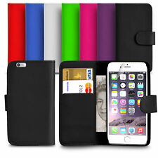 For- APPLE IPHONE 8 & 8 Plus Premium Leather Magnetic Flip Wallet Case Cover