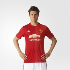 Adidas Men Tshirts Soccer Manchester United FC Home Replica Jersey New AI6720