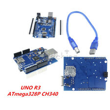 UNO R3 ATmega328P CH340G USB Ethernet Shield W5100 Expansion Board For Arduino