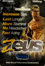 Zeus 1600mg Strongest Male Sexual Performance Enhancement Pill, Authentic Pills