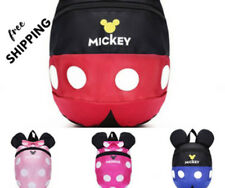 toddler backpack harness safety strap, baby child travel Mickey Minnie walking