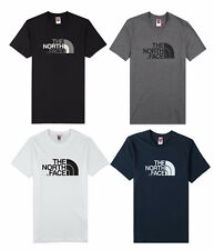 Mens The North Face Easy * Short Sleeve Black Grey White Tee T-Shirt S M L XL
