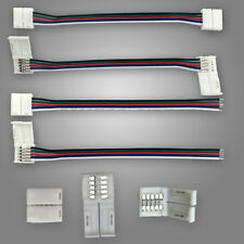 5/10/20/50x New 5Pin Free Soldering Connector Wire Cable For 5050 RGBW LED Strip