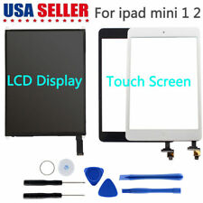 Front LCD Display Touch Screen Digitizer Replacement For Apple iPad Mini 1 2 Lot