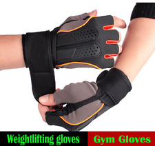 Tactical Gym Gloves Sports Fitness Wrist Wrap Weight Lifting Men Women Training