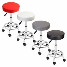 Adjustable Salon Stool Hydraulic Rollin Chair Tattoo Dental Facial Massage Spa J