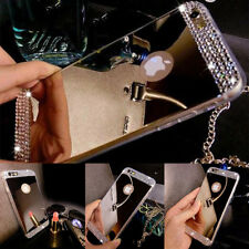 NEW Luxury TPU Ultra-thin Mirror Metal Case Cover for Apple iPhone / Samsung
