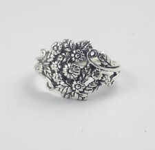 1 Pcs Flower Design Style Ring 925 Sterling Silver High Polished Lovely Ring