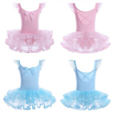 Girl Ballet Leotard Dance Dress Kids Baby Tutu Skirt Ballerina Dancewear Costume