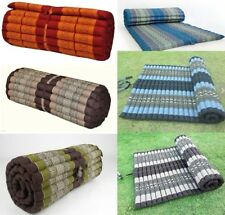 "Thai Roll up Mattress Cushion Camping Day Bed kapok100% 79"" x 30"" x 2"""