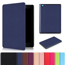 Sleep/Wake PU Leather Slim Case Cover For Kobo Aura One Limited Edition eReader