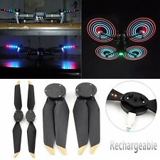 Low-Noise Quick-Release LED Flash Propellers Props For DJI Mavic PRO/Platinum