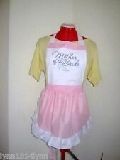 MOTHER OF THE BRIDE PARTY APRONS for Bridal Showers Made to order most colour