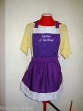 PERSONALISED KITCHEN TEA / BRIDAL SHOWER APRONS 4 HEN & HENS HELPER M2O