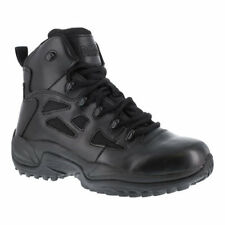 """Reebok Work Men's   Rapid Response RB RB8678 Stealth 6"""" Tactical Boot Black Size"""
