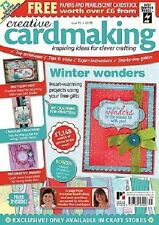 NEW Creative Cardmaking Magazines with Free gifts/Papers *REDUCED*