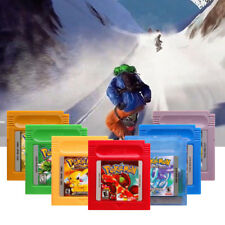 7 Colors Game Cards Carts For Nintendo Pokemon GBC Game Boy Color Version