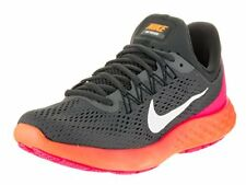 NIKE Womens Wmns Lunar Skyelux, Dark Grey/White-Anthracite-Pink Blast, 6 US