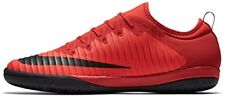 Nike MercurialX Finale II IC Indoor Soccer Shoe (Sz. 10) Red, Bright Crimson