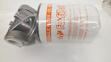 """Hydraulic Oil Spin on  Return Filter Assembly 1-1/4"""" BSP Ports 300Lt/Min"""