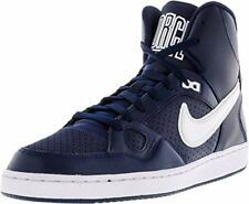 NIKE Mens Son Of Force Mid Basketball Shoes 616281-411 Midnight Navy/White (US