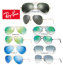Ray-Ban Sunglasses RB3025 Aviator Flash Series (Multiple Colors Available)
