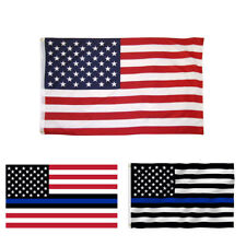 Thin 3 x 5 ft United States of America Flag USA Stars and Stripes Banner US Ship