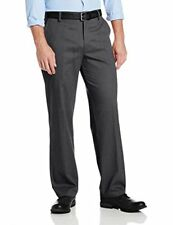 Dockers Men's Easy Khaki D3 Classic-Fit Flat-Front Pant, Midnight Heather, 30W