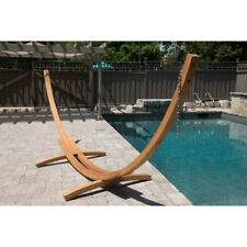 Vivere 15 ft. Solid Pine Arc Hammock Stand
