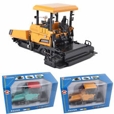 1/40 Scale Diecast Alloy Paver Trucks Metal Construction Equipment Toys with Box