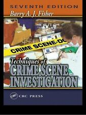Techniques of Crime Scene Investigation (5th ed)