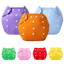 1Pcs Washable Baby Pocket Nappy Cloth Reusable Diaper Cover Wrap Nappy Utility