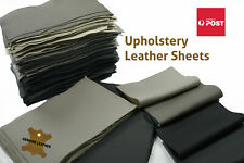 Cowhide leather pieces Craft panels Sets of 3 grainy 1.2-1.4 mm Regular cow hide