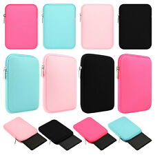 "Neoprene Zipper Soft Sleeve Bag Case Cover For 6"" Amazon Kindle Paperwhite 1 2 3"
