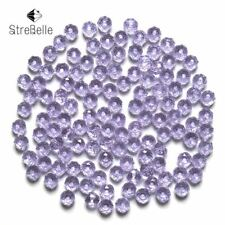 Czech Seed Rondelle Beads 100pcs/lot 3x4mm Faceted Crystal DIY Jewelry Faceted 5