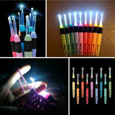 1PC Lighted Crochet Hook For Sewing Kit Crafts Loom Tool 2.5~6.5mm light up lite