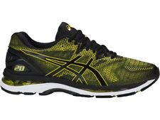 Asics Gel-Nimbus 20 Yellow Black Men Running Shoes Regular D Width T800N-8990