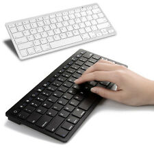 """New X6 Slim Wireless Bluetooth Keyboard For 9""""~10"""" IOS Android Tablet PC Windows"""