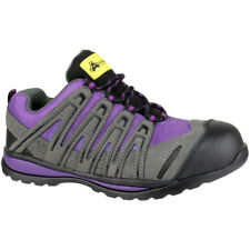 Amblers Safety Ladies FS108C Safety Trainers Purple