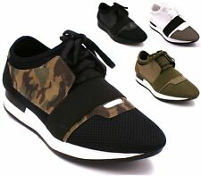 Mens Boys Running Trainers Fitness Gym Light Sports Comfy Lace Up Shoes Size 6-1