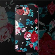 3D Flower Soft Phone Case Relief Rose Silicone Cute Floral Cover For iPhone 6 6s