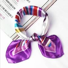 Women Fashion Square Elegant Flight Attendants Scarf Hotel Waiter Business Imita