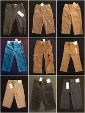 Gymboree NWT Baby Boys Pants Assortment 0-3 6-12 12-18 18-24 M 2T &3T